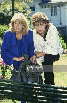 """Lisa & Nancy filming """" The Facts of Life Down Under"""" Facts Of Life Cast, Nancy Mckeon, Lisa Whelchel, Vintage Tv, Vintage Fashion, Life Tv, Bombshell Beauty, Family Tv, Fact Families"""