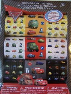 Disney Cars Stickers By the Roll - Stickers May Vary by Sandy Lion. $6.88