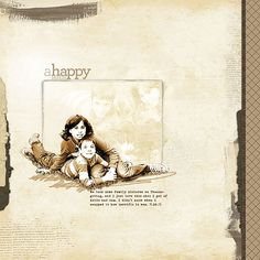 A Happy Memory - Digital Scrapbooking Ideas - DesignerDigitals