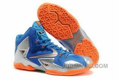 http://www.jordanaj.com/820632210-nike-lebron-11-2013-blue-silver-orange-running-shoes.html 820-632210 NIKE LEBRON 11 2013 BLUE SILVER ORANGE RUNNING SHOES Only 76.60€ , Free Shipping!