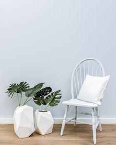 Creëer zelf jouw eigen #vintage #interieur met de prachtige kleur Birdhouse Blue van Moodpaints Krijtverf