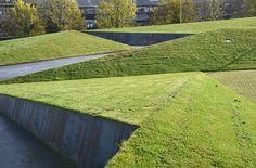 Roof garden and entrance area at KPMG HQ by Henrik Jørgensen Landskab AS