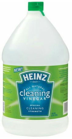 Love cleaning with vinegar