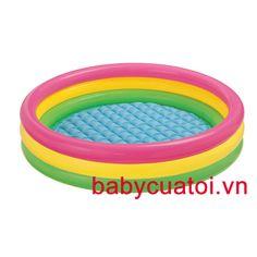 Bể bơi phao INTEX cầu vồng 1m14-57412