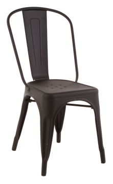 Replica Xavier Pauchard Tolix Chair (Galvanised) Matt