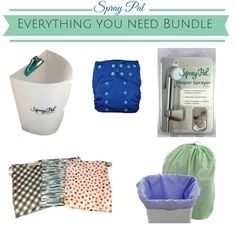 everything you need bundle- #clothdiapers  #makeclothmainstream