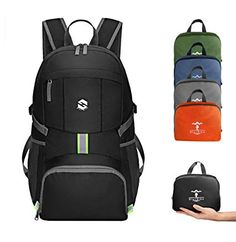 OlarHike Lightweight Travel Backpack Water Resistant Packable Traveling/Hiking Backpack Daypack Men Women Multipurpose Use Earphones-Accessories Headphones Phones-Communication Protector Foils Earphones-Accessories Cables Lightweight Travel Backpack, Best Travel Backpack, Hiking Backpack, Laptop Backpack, Travel Bags, Travel Accessories, Backpacks, Water, Men
