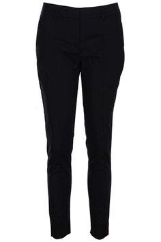 #Romwe Rolled Cuffs Black Pants