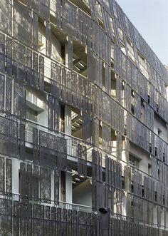 Social Housing, 1 Rue De Turenne, Paris, 2009 - Chartier-Corbasson Architectes