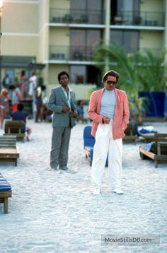 Miami Vice - Publicity still of Don Johnson & Philip Michael Thomas