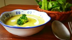 Healthy Broccoli Soup  This recipes is easy to make yet very healthy. Combine the broccoli with potatoes, two of them just make a perfect match. Read more about the recipe in the blog!