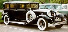A 1932 Ninth Series De Luxe Eight model 904 sedan-limousine - Packard was an American luxury automobile marque built by the Packard Motor Car Company of Detroit, Michigan, and later by the Studebaker-Packard Corporation of South Bend, Indiana. The first Packard automobiles were produced in 1899, and the last in 1958.