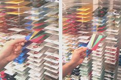 business card installation offers new networking opportunity