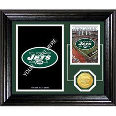 New York Jets Framed Memories Desktop Photo Mint