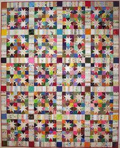 I really wanted to try and squeeze in another finish for 2014.(not that i had that many in 2014 to begin with) AND I DID…. TA DA! I LOVE THIS QUILT!! This is another Bonnie Hunter pattern. So far, s