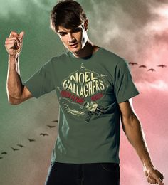 Reverbcity Shop - Camisetas/T-shirts Noel Gallaghers High Flying Birds