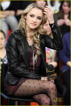 Emily Osment at MuchMusic in Toronto,Canada
