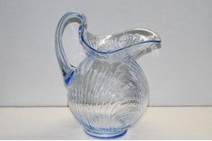 Cambridge Caprice Moonlight Blue Doulton Jug Pitcher ebay 3599.99