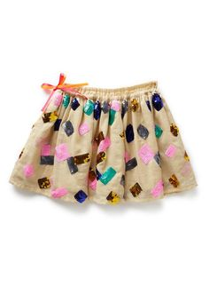 Girls Skirts | Fluro Sequin Skirt | Seed Heritage