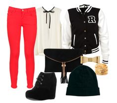 cute outfits for popular high school - Google Search i would wear this but with out the jewlery and the shoes