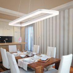 Das Sinnbild moderner #Wohnkultur: Lichtstark und mit hellem, schlichten Design mit dem gewissen Etwas präsentiert sich diese einzigartige #Pendelleuchte. Diese #Leuchte steht für wahren #Genuss!