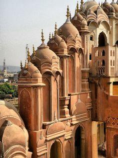 Indien Rundreise palast rot