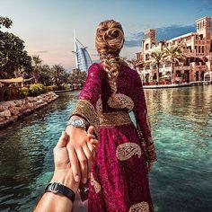 """#followmeto Dubai with @natalyosmann.  What is your favorite place in Dubai?"" Photo taken by @muradosmann on Instagram, pinned via the InstaPin iOS App! http://www.instapinapp.com (09/10/2015)"