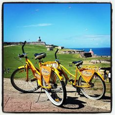 Rent the Bicycle-see San Juan/Old San Juan by bicycle