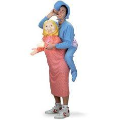 Men s Mommy's Boy Halloween Costume, Size: XL, Blue