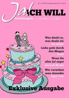 Schöne Vorlage für eine Hochzeitszeitung gesucht? - Im Editor von Jilster findest du sie!