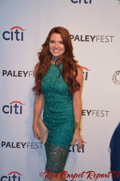 """Katie Stevens at #PaleyFest Fall TV Preview for MTV's """"Faking It"""" #FakingIt http://www.redcarpetreporttv.com/2014/09/13/we-talk-to-the-cast-of-faking-it-at-the-paleyfest-fall-tv-preview-video-interviews-mtv-fakingit/"""