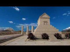 Cyrus the Great Tomb Virtual Rebuild - YouTube