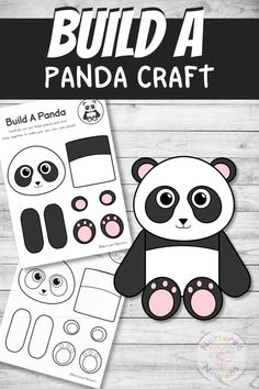 Here's a simple cut and paste craft for all the panda fans out there! It's a great way to develop those cutting, sticking and fine motor skills. There's color and black and white panda templates included in the pack and you can grab them over at Nurtured Neurons! #pandas #pandacrafts #preschoolcrafts #kindergartencrafts #prek #art #cutandpaste #preschool #simplecrafts #animalcraft Fun Crafts For Kids, Easy Crafts, Arts And Crafts, Paper Crafts, Kindergarten Crafts, Preschool Crafts, Montessori Activities, Activities For Kids, Panda Craft