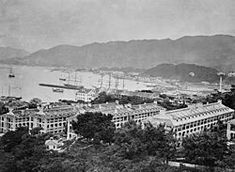 The Victoria Barracks 域多利兵房 in were barracks in the Admiralty area of Central on Hong Kong Island, Hong Kong. The barracks were constructed between the and and situated within the area bounded by Cotton Tree Drive, Kennedy Road and Queensway, Hong Kong. Perspective Sketch, British Hong Kong, Happy Valley, Victoria, Empire Style, Macau, Paris Skyline, Nostalgia, Island