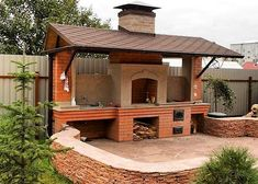 46 ideas for backyard bbq grill pizza ovens Outdoor Stove, Outdoor Kitchen Bars, Pizza Oven Outdoor, Backyard Kitchen, Outdoor Kitchen Design, Backyard Patio, Backyard Landscaping, Kitchen Grill, Indoor Outdoor