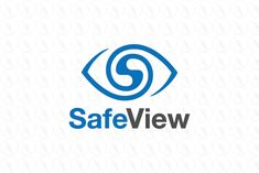 Safe View - $199 (negotiable) http://www.stronglogos.com/product/safe-view #logo #design #sale #safe #view #blue #eye #security #camera #video #company #guards