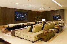 fotos de home theater sofisticados - Pesquisa Google