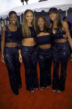 Destiny's Child... in the beginning...