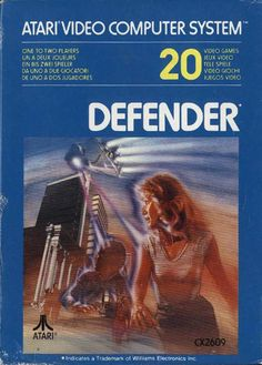 Classic Atari Box Art