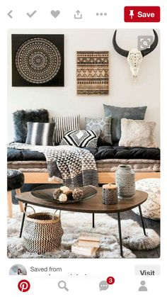 decor inspiration bohemian eclectic style living room