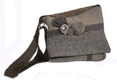 Rosette IPad Bag by Tweedable on Etsy, $45.00. Super cute bags my sister makes!