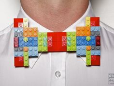 A bow tie made of Lego. Whats next?