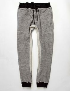 Cotton Combo Sweat Pant - I think these would feel like heaven.