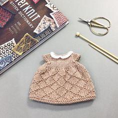 I had so much fun knitting this little dress ☁️ Pattern by @littlecottonrabbits . . #knit #handmade #amigurumi #yarnlove #yarn #手編み #編み物 #knitting #手作り #handknit #sweater #cute #可愛い #handmadeknit #clothes #toy #handmadetoys #コーデ #friends #love #diy #häkeln #haken #stricken #needles #littlecottonrabbits #セーター