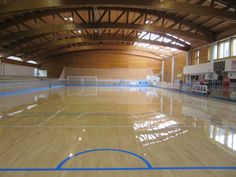 The new sports flooring for the indoor stadium of Recoaro Terme is completed