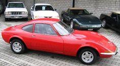 Opel GT 1900 Sportcoupe 1971 rot