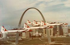 USAF Thunderbird Northrup T-38 Talon