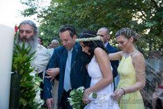 Ο ρομαντικός γάμος του  Άγγελου & της Ναυσικάς στο κτήμα Venus Epavlis