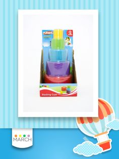 Stacking Cups Playskool