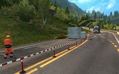 Euro Truck Simulator 2 - Volvo FH16 Euro 5 & roadwork